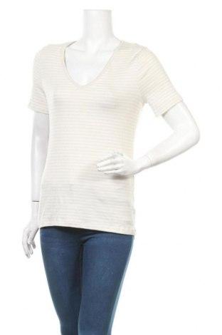 Дамска блуза A New Day, Размер M, Цвят Бежов, 58% памук, 39% модал, 3% еластан, Цена 13,23лв.
