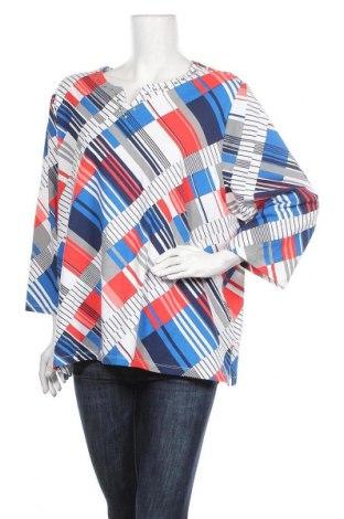 Дамска блуза Alfred Dunner, Размер XXL, Цвят Многоцветен, 95% памук, 5% еластан, Цена 5,67лв.