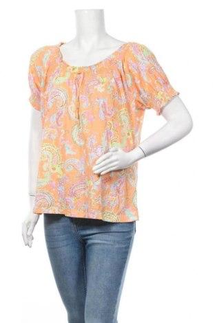 Дамска блуза American Living, Размер XL, Цвят Многоцветен, Памук, Цена 5,88лв.