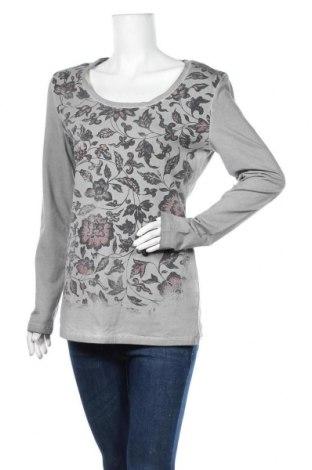Дамска блуза Angels Never Die, Размер L, Цвят Сив, 95% памук, 5% еластан, Цена 11,34лв.