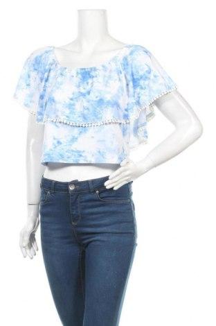 Γυναικεία μπλούζα Ardene, Μέγεθος L, Χρώμα Μπλέ, 92% πολυεστέρας, 8% ελαστάνη, Τιμή 8,18€