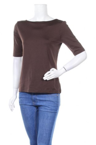 Дамска блуза B.C. Best Connections, Размер L, Цвят Кафяв, 90% полиамид, 10% еластан, Цена 17,96лв.