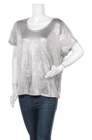 Γυναικεία μπλούζα B Collection, Μέγεθος XL, Χρώμα Ασημί, Πολυεστέρας, ελαστάνη, Τιμή 9,94€