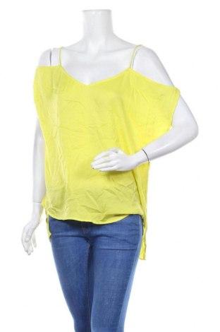 Γυναικεία μπλούζα Bardot, Μέγεθος L, Χρώμα Κίτρινο, Πολυεστέρας, Τιμή 8,28€