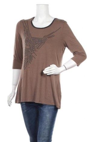 Γυναικεία μπλούζα Basler, Μέγεθος L, Χρώμα Καφέ, 93% βισκόζη, 7% ελαστάνη, Τιμή 17,28€