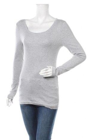 Дамска блуза Bench, Размер M, Цвят Сив, Памук, Цена 21,95лв.