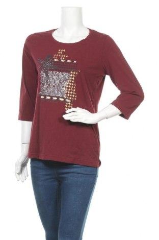 Дамска блуза Bexleys, Размер M, Цвят Червен, 95% памук, 5% еластан, Цена 13,65лв.