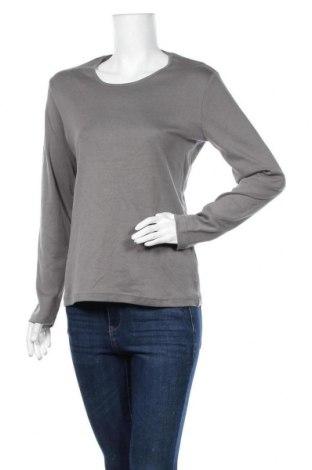 Дамска блуза Biaggini, Размер L, Цвят Сив, Памук, Цена 18,95лв.