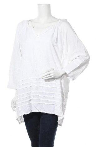 Дамска блуза Blue Illusion, Размер 3XL, Цвят Бял, Вискоза, Цена 22,05лв.