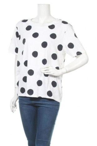 Дамска блуза Blue Illusion, Размер XXL, Цвят Бял, 60% памук, 40% полиестер, Цена 16,07лв.