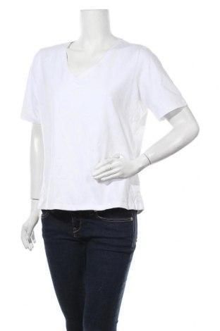 Дамска блуза Blue Illusion, Размер XXL, Цвят Бял, 95% памук, 5% еластан, Цена 17,96лв.