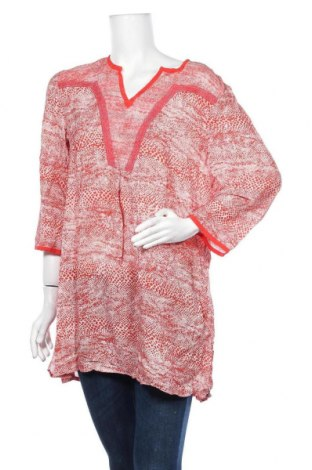 Дамска блуза Blue Illusion, Размер XL, Цвят Червен, Коприна, Цена 18,90лв.