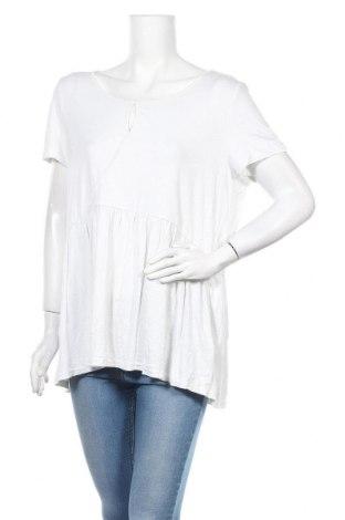Дамска блуза Blue Illusion, Размер XXL, Цвят Бял, 95% вискоза, 5% еластан, Цена 26,93лв.