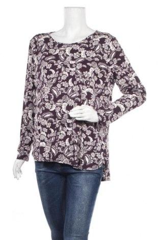 Дамска блуза Blue Illusion, Размер XXL, Цвят Многоцветен, 95% вискоза, 5% еластан, Цена 15,96лв.