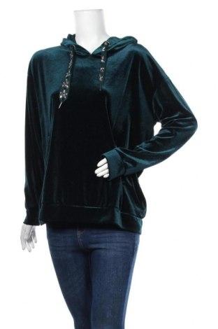 Дамска блуза Bonita, Размер L, Цвят Зелен, 93% полиестер, 7% еластан, Цена 20,95лв.
