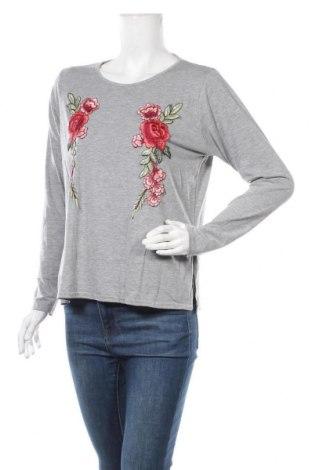 Дамска блуза Boohoo, Размер XL, Цвят Сив, 95% вискоза, 5% еластан, Цена 17,85лв.