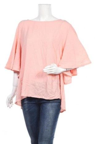 Дамска блуза Boohoo, Размер 3XL, Цвят Розов, Полиестер, Цена 31,92лв.