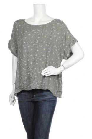 Дамска блуза Brilliant, Размер XXL, Цвят Зелен, Вискоза, Цена 17,01лв.