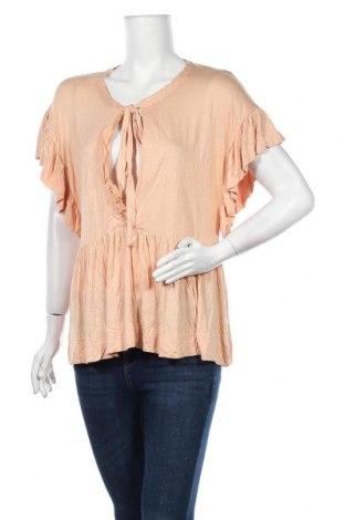 Дамска блуза By Malene Birger, Размер XL, Цвят Бежов, Вискоза, Цена 59,64лв.