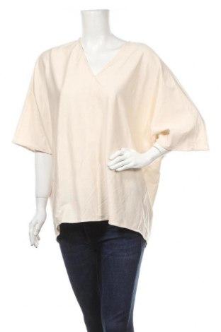 Дамска блуза COS, Размер L, Цвят Бежов, Памук, Цена 29,93лв.