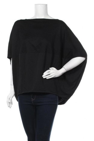 Дамска блуза COS, Размер M, Цвят Черен, 81% вискоза, 15% полиамид, 4% еластан, Цена 21,95лв.