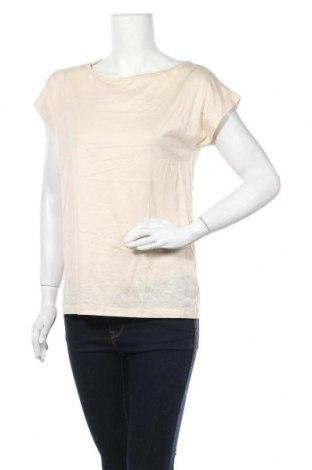 Дамска блуза COS, Размер M, Цвят Бежов, 67% лиосел, 33% памук, Цена 30,35лв.