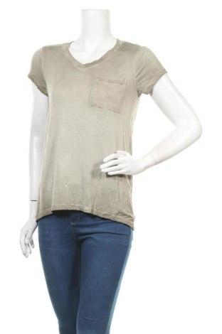 Дамска блуза Cable & Gauge, Размер S, Цвят Бежов, 97% вискоза, 3% еластан, Цена 31,92лв.