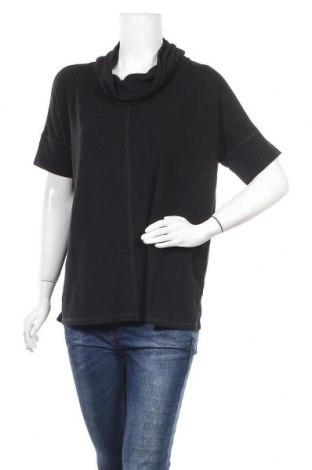 Дамска блуза Cable & Gauge, Размер M, Цвят Черен, 50% вискоза, 46% полиестер, 4% еластан, Цена 16,80лв.