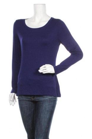 Дамска блуза Cable & Gauge, Размер L, Цвят Лилав, 95% вискоза, 5% еластан, Цена 19,95лв.