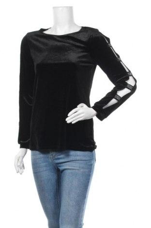 Дамска блуза Cable & Gauge, Размер S, Цвят Черен, 92% полиестер, 8% еластан, Цена 16,07лв.