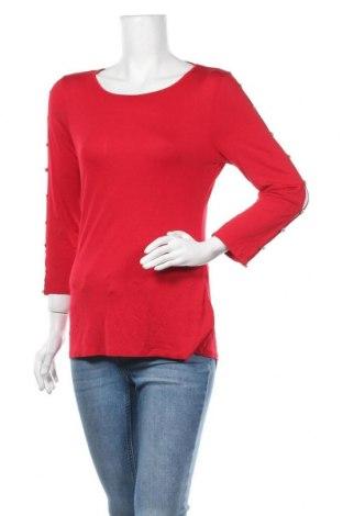 Дамска блуза Cable & Gauge, Размер M, Цвят Червен, 95% вискоза, 5% еластан, Цена 16,07лв.