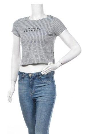 Дамска блуза Calliope, Размер XS, Цвят Сив, 95% памук, 5% еластан, Цена 7,14лв.