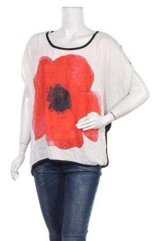 Дамска блуза Caroline K Morgan, Размер XL, Цвят Черен, Полиестер, вискоза, еластан, Цена 18,90лв.