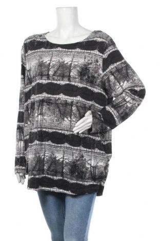 Дамска блуза Caroline K Morgan, Размер XXL, Цвят Черен, 95% полиестер, 5% еластан, Цена 19,95лв.