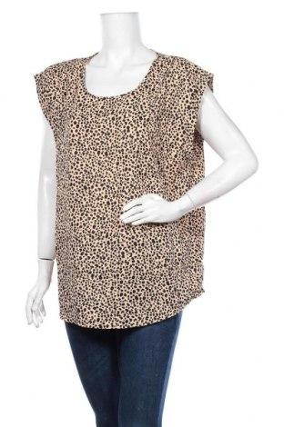 Дамска блуза Caroline K Morgan, Размер XL, Цвят Бежов, Полиестер, Цена 17,85лв.