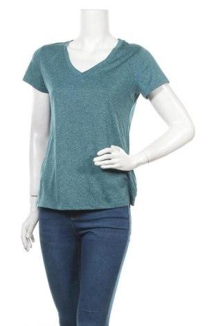 Γυναικείο t-shirt Champion, Μέγεθος M, Χρώμα Πράσινο, Πολυεστέρας, Τιμή 7,73€