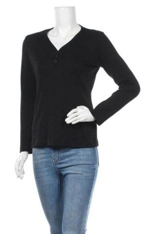 Дамска блуза Charter Club, Размер M, Цвят Черен, 60% памук, 40% полиестер, Цена 4,73лв.