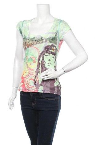 Γυναικεία μπλούζα Christian Audigier, Μέγεθος S, Χρώμα Πολύχρωμο, 50% βαμβάκι, 50% πολυεστέρας, Τιμή 7,27€