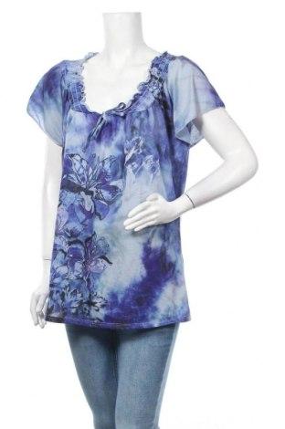 Γυναικεία μπλούζα Christopher & Banks, Μέγεθος L, Χρώμα Βιολετί, Πολυεστέρας, Τιμή 4,32€