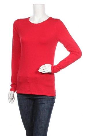 Дамска блуза Clockhouse, Размер L, Цвят Червен, Цена 17,96лв.