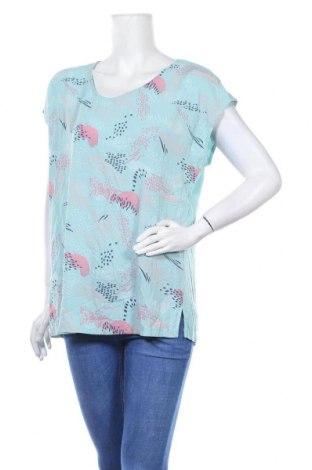 Дамска блуза Clothing & Co, Размер XL, Цвят Син, 97% полиестер, 3% еластан, Цена 12,60лв.