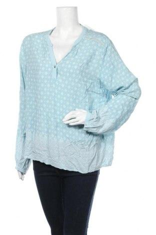 Дамска блуза Cream, Размер XL, Цвят Син, Вискоза, Цена 34,02лв.