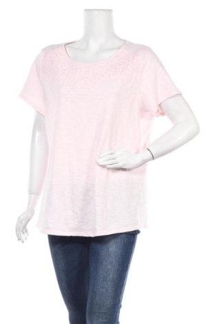 Дамска блуза Croft & Barrow, Размер XXL, Цвят Розов, 60% памук, 40% полиестер, Цена 16,07лв.