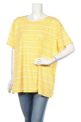 Дамска блуза Croft & Barrow, Размер XXL, Цвят Жълт, 100% памук, Цена 19,95лв.