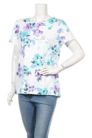 Дамска блуза Croft & Barrow, Размер L, Цвят Многоцветен, 100% памук, Цена 25,94лв.