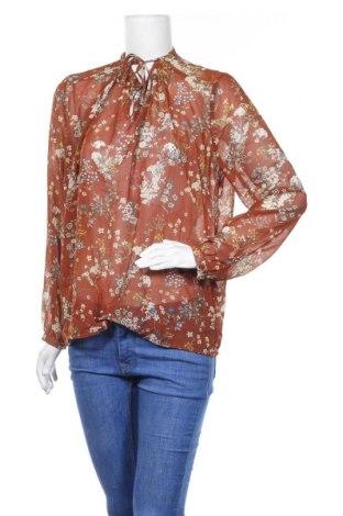 Дамска блуза Darling, Размер M, Цвят Кафяв, Полиестер, Цена 15,12лв.