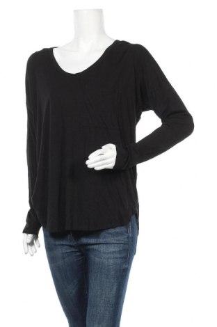 Дамска блуза Decjuba, Размер L, Цвят Черен, 70% вискоза, 30% памук, Цена 18,74лв.