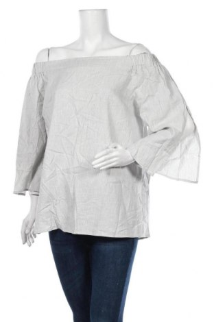 Дамска блуза Decjuba, Размер L, Цвят Сив, 100% памук, Цена 19,95лв.