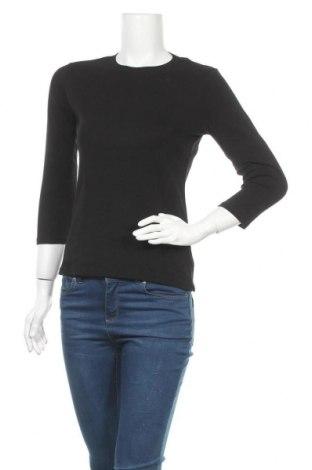 Дамска блуза Eddie Bauer, Размер S, Цвят Черен, Памук, Цена 16,80лв.