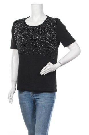 Γυναικεία μπλούζα Fabiani, Μέγεθος L, Χρώμα Μαύρο, Βαμβάκι, Τιμή 10,52€